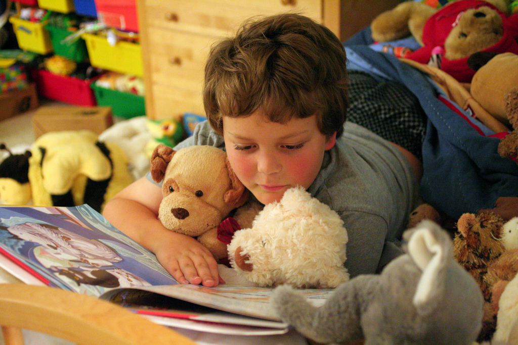 Story telling and children's books can help kids understand and cope with stressors.