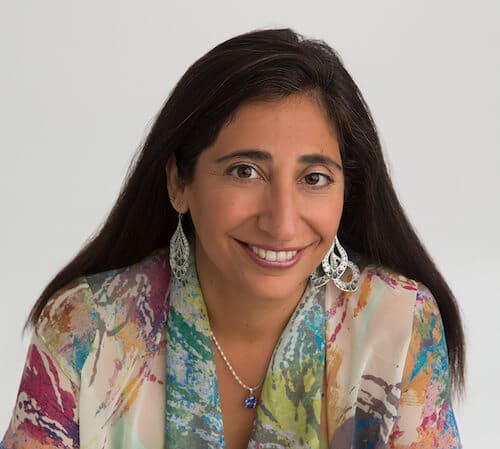 Photo of Dr. Azmaira Maker, clinical psychotherapist and founder of Aspiring Families in San Diego.
